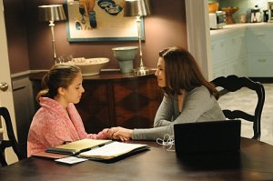Grace and Alicia Florick, characters on The Good Wife.